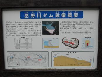 葛野川(かずのがわ)ダム設備概要