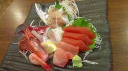 地魚のお刺身定食