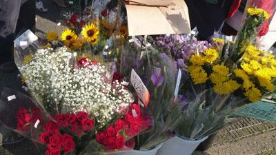 お花もお買い得