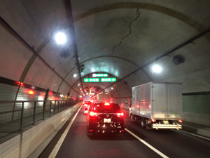 am07:20 内陸工業トンネル付近